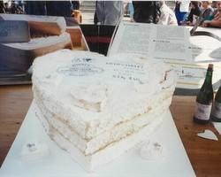 Fabrication d'un fromage de 61 kg 840 en 1995